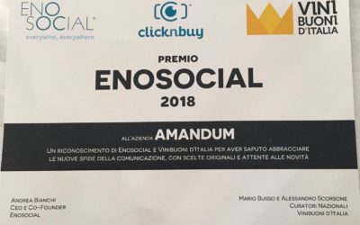 Premio Enosocial 2019